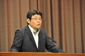 濱名 篤 氏(32期)による講演会