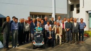 六甲教会にて、追悼ミサ参加者