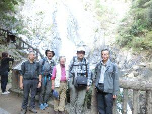 布引の滝へのハイキング
